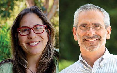 Miryam Kabakov  and Rabbi Steve Greenberg