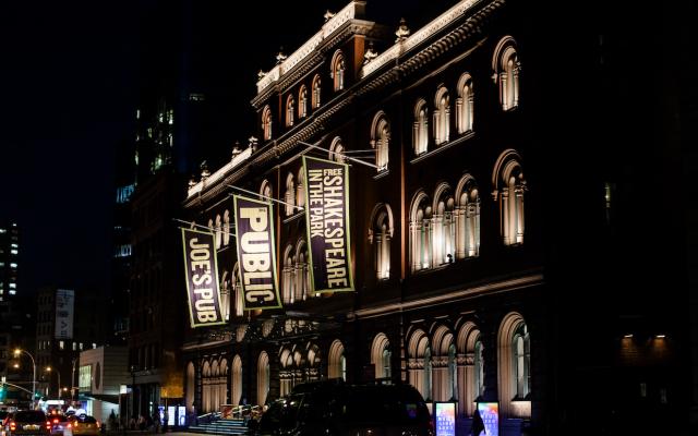 Joe's Pub in NYC. Wikimedia Commons/Billie Grace Ward