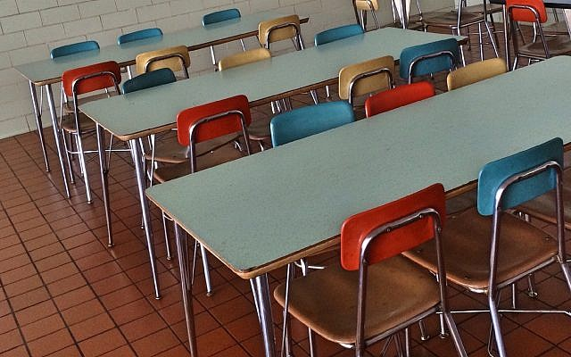 Illustrative photo: School cafeteria. Pxhere