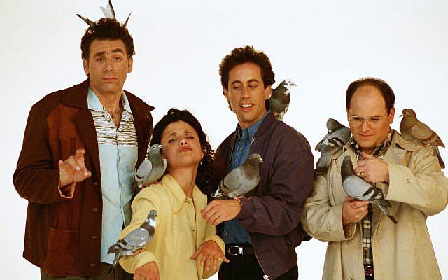 """Seinfeld"" is getting a new streaming home. (David Turnley/Corbis/VCG via Getty Images/via JTA)"