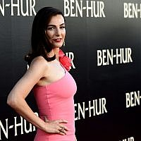 "Actress Ayelet Zurer arrives at the premiere of Paramount Pictures' ""Ben-Hur"" at the Chinese Theatre on August 16, 2016 in Los Angeles, California. Getty Images"