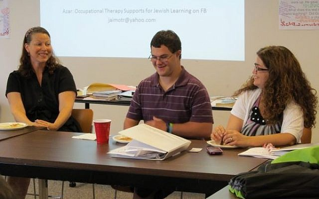 Participants in a 'Whole Community Inclusion' training. Courtesy of Jewish Learning Venture