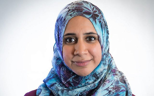 Zahra Billoo is among 17 new members of the Women's March board. (Women's March/via JTA)