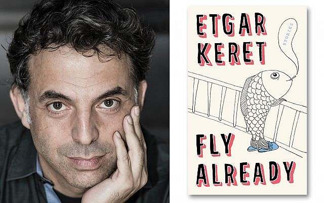 "Keret, who writes with a sense of economy and magic, says, ""I'm growing older. I understand life around me less and less."" Alessandro Moggi"