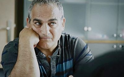 """Jamal Barakat in """"Cause of Death,"""" a 2018 documentary about the murder of his brother, Druze police officer Salim Barakat, during a 2002 terrorist attack. The film is part of this year's Other Israel Film Festival at the Marlene Meyerson JCC Manhattan. Itai Raziel"""