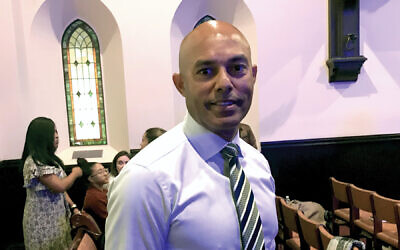 """Mariano Rivera said Israel and the Jews are God's people. """"I'm not going to be against God."""" Jonathan Mark/JW"""