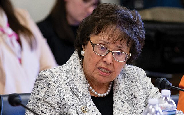 Veteran Westchester Rep. Nita Lowey's decision to retire removes a strong voice for Israel.  Getty Images