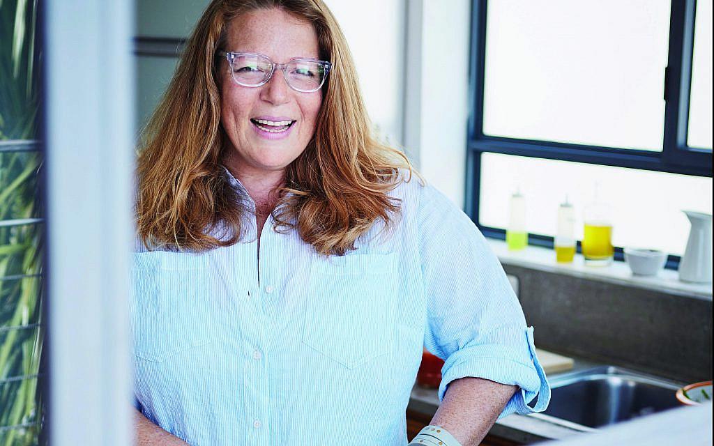 Adeena Sussman in her Tel Aviv kitchen. Courtesy of Dan Perez
