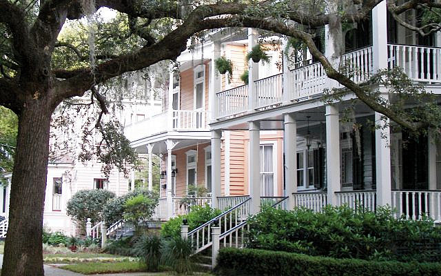 A Spanish moss-draped street in the historic district of Beaufort, S.C. Wikimedia Commons