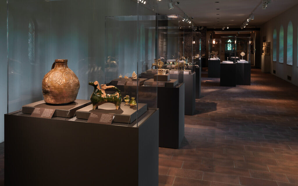 The Colmar Treasure exhibit at the Metropolitan Museum of Art in New York. (Courtesy/ Met Cloisters)