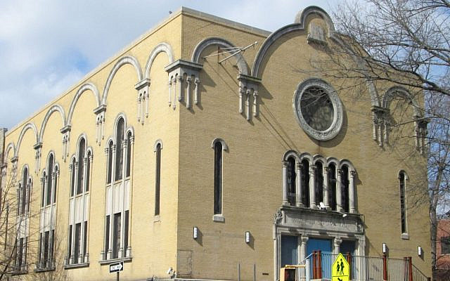 The Park Slope Jewish Center in the South Slope neighborhood of Brooklyn, New York. Wikimedia Commons/JTA