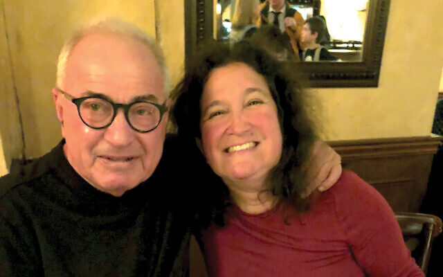 """Transplant recipient George Bell and kidney donor Tara Kopman: Says Bell: """"People who do this are very special people."""" Courtesy of Tara Kopman"""