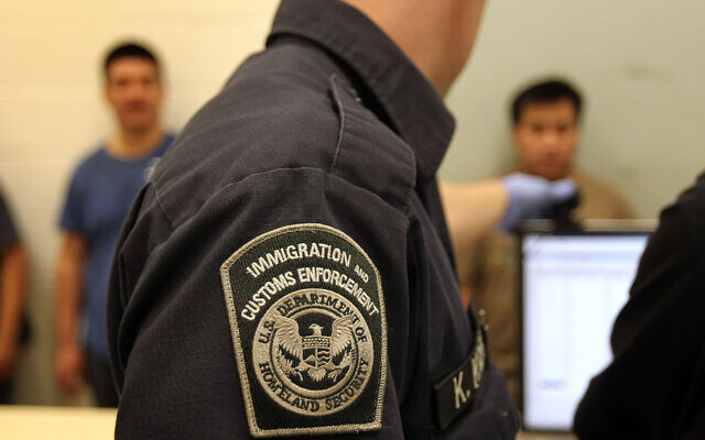 Undocumented Mexican immigrants are photographed while being processed at the Immigration and Customs Enforcement center in Phoenix, Ariz., April 28, 2010. (John Moore/Getty Images)