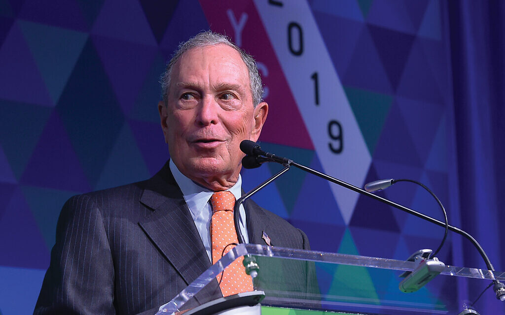Bloomberg Jolts Race For Jews Of All Stripes