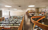 The reading room at the National Library of Israel, which is undertaking a huge digitization project. Wikimedia Commons