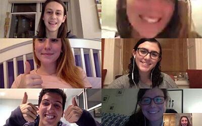 Fresh Ink editorial meeting via Skype.