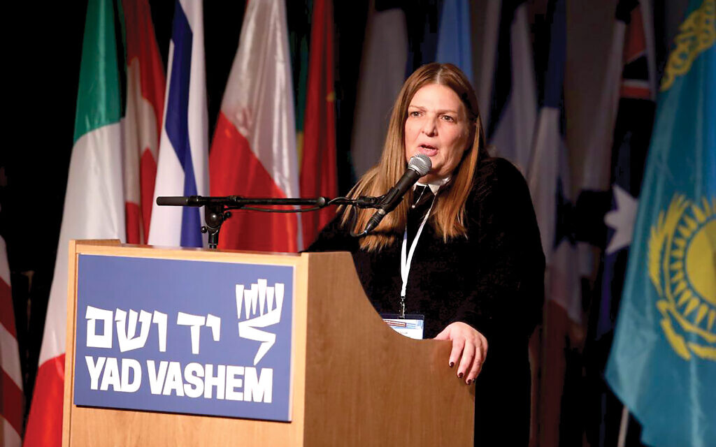 Dorit Novak, director general of Yad Vashem. Yad Vashem
