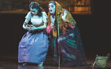 "Stephanie Lynne Mason and Mikhl Yashinsky in ""The Sorceress."" Victor Nechay/Properpix.com"