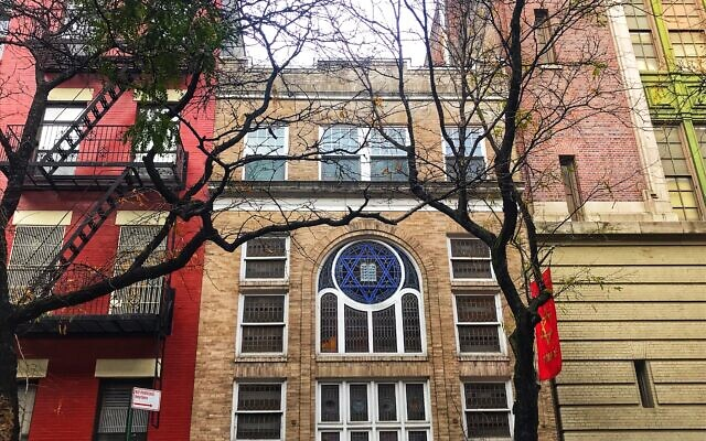 Located on West 47th Street in Hell's Kitchen, The Actor's Temple is now both a theater and functioning synagogue. Miriam Groner/JW