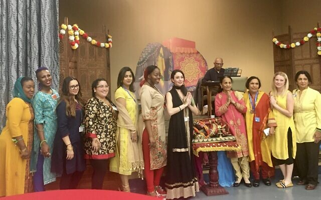 Parker Jewish Institute celebrates Diwali