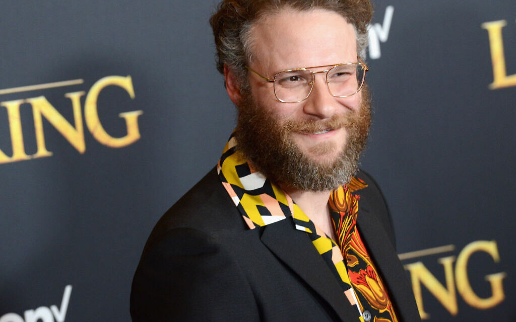 """Seth Rogen arrives for the Premiere Of Disney's """"The Lion King"""" held at Dolby Theatre on July 9, 2019 in Hollywood, California. Getty Images"""