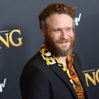 "Seth Rogen arrives for the Premiere Of Disney's ""The Lion King"" held at Dolby Theatre on July 9, 2019 in Hollywood, California. Getty Images"