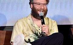 "Seth Rogen attends the Global Press Conference for Disney's ""The Lion King"" on July 10, 2019 in Beverly Hills, California. (Getty Images)"