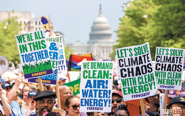 A march on the climate crisis in Washington, D.C.