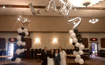 The author's sister's Bat Mitzvah. Photos courtesy of Rena Max