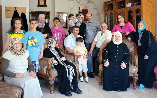 Niveen Abuleil's family. ©Thomas Struth
