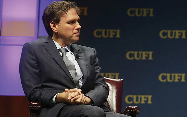 Bret Stephens facing backlash for citing a controversial study about Jewish I.Q. scores. Getty Images