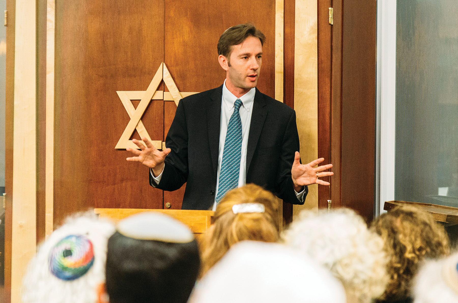 """Hadar, says Rabbi Ethan Tucker, is filling a need for students who want an environment """"where gender equality wasn't up for discussion."""""""