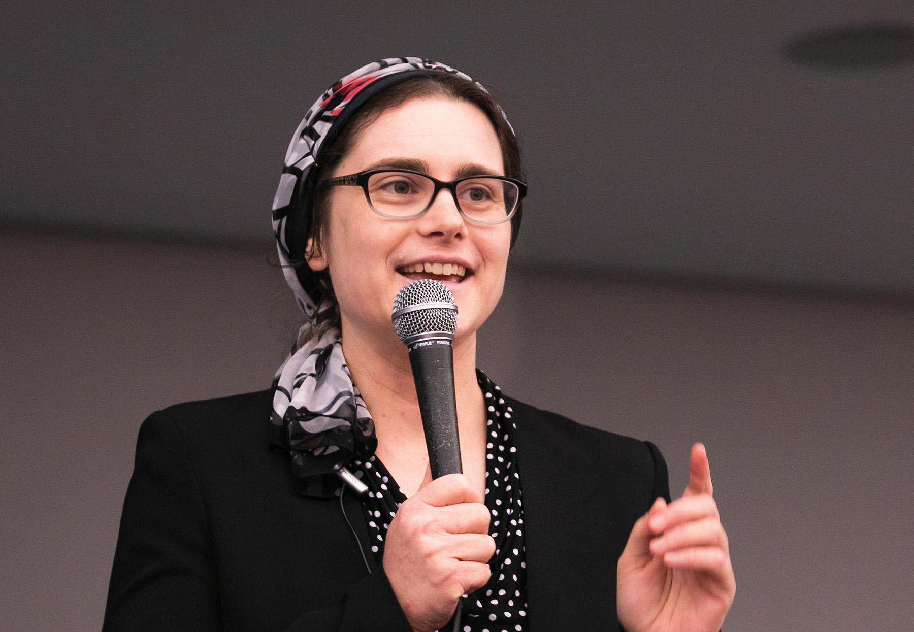 Rabbi Aviva Richman teaches at Hadar. Photos courtesy of Hadar