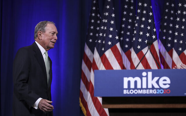 New York Mayor Michael Bloomberg speaks at a press conference to discuss his presidential run on November 25, 2019 in Norfolk, Virginia. Drew Angerer/Getty Images