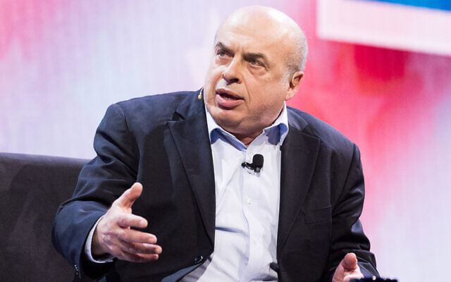 Natan Sharansky, a former Soviet refusenik and Israeli lawmaker, was named the 2020 Genesis Prize laureate. (Michael Brochstein/SOPA Images/LightRocket via Getty Images/via JTA)