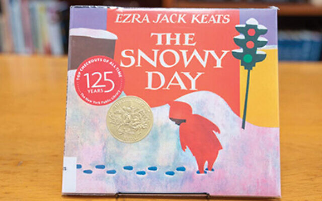 "Ezra Jack Keats' ""The Snowy Day"" is the most checked-out book of all time at the New York Public Library.  Wikimedia Commons"