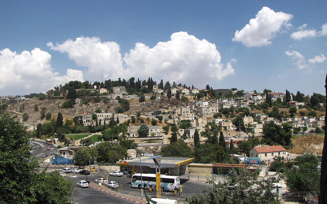 The view from the ancient citadel in Safed, northern Israel. Shmuel Bar-Am