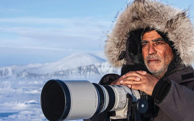 """Amos Nachoum in """"Picture of His Life."""""""