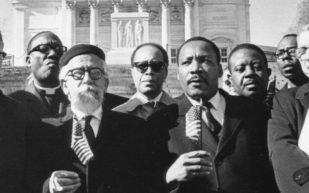 Martin Luther King Jr. and Abraham Joshua Heschel. Getty Images/Courtesy of Susannah Heschel
