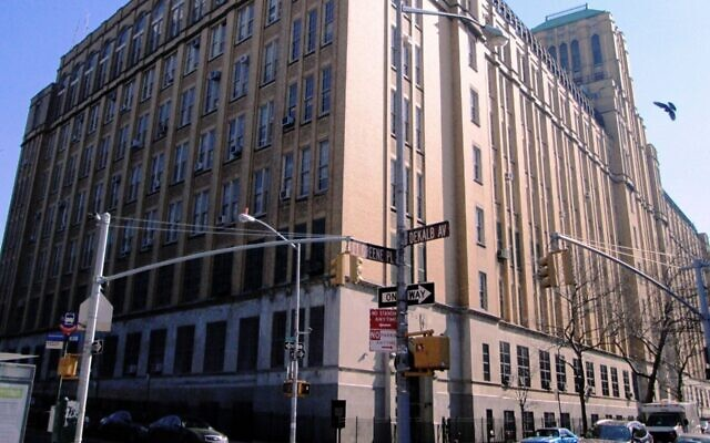 Brooklyn Technical High School, located at Fort Greene Place and Dekalb Avenue in Brooklyn, New York. (Wikimedia Commons/via JTA)
