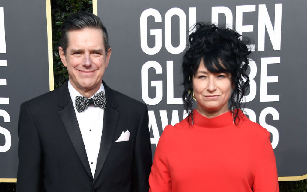 Daniel Palladino (L) and Amy Sherman-Palladino attend the 76th Annual Golden Globe Awards at The Beverly Hilton Hotel on January 6, 2019 in Beverly Hills, California.  (Photo by Frazer Harrison/Getty Images)