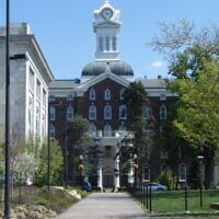 A view of the Kutztown University campus in 2010. (Wikimedia Commons/via JTA)
