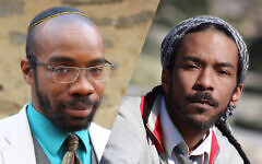 Rabbi Shais Rishon (L) and Yitz Jordan (R) want to create a JCC for Jews of Color. Their idea may pick up steam after a recent  injection of cash from UJA-Federation of NY. Rishon/JTA Jordan/Valerie Brooks