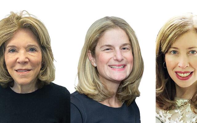 Gail Propp left, Dana Hiltzik, Jennifer Bernstein.