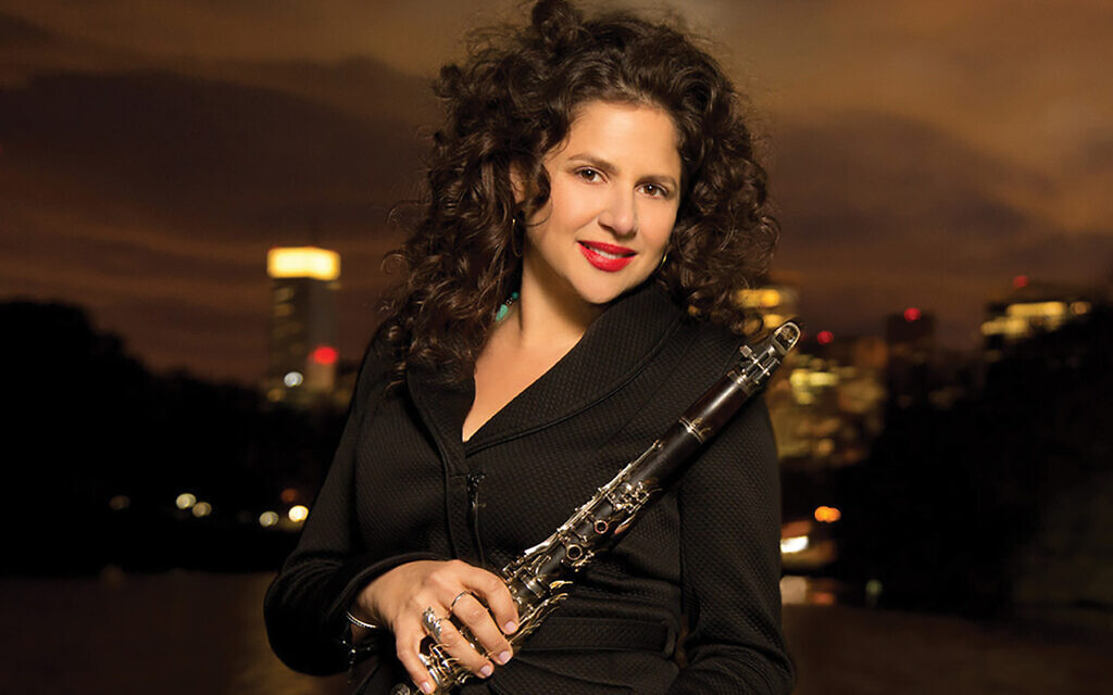 Clarinetist Anat Cohen plays the Miller Theatre next month. Anatcohen.com
