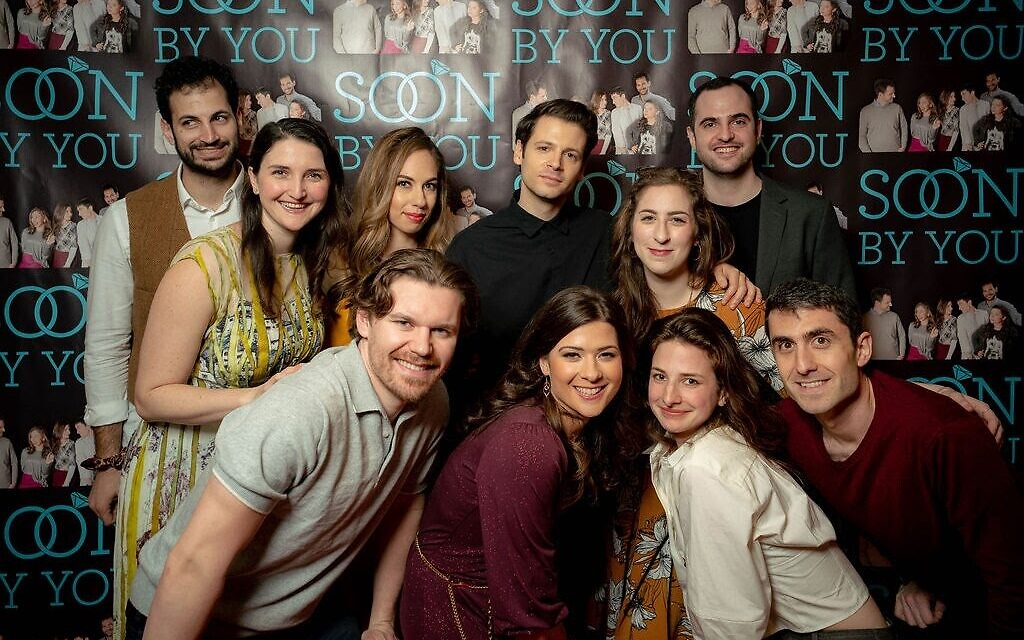 Full cast of 'Soon By You' at Season 2, Episode 2 premier. Courtesy of David Zimand