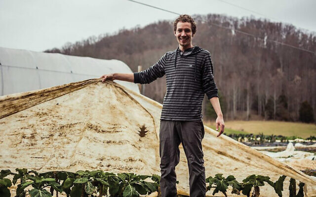 Yogev Von Kundra raises animals and medicinal herbs on his farm in Damascus, Virginia. Courtesy of Von Kundra