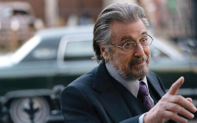 "Al Pacino stars as a Nazi hunter in the Amazon mini-series ""Hunters."" Amazon.com"