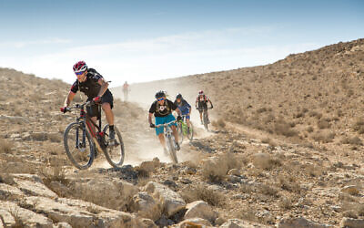 Members of the Council of Presidents of American Jewish Organizations have ditched meetings with Israeli leaders for fundraising bicycle rides in the Negev Desert.  flickr commons