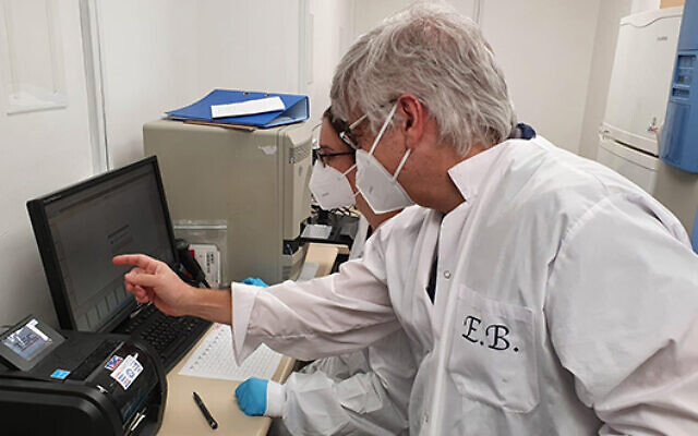 Tel Aviv University has built an emergency Covid-19 testing lab, which will allow Israel to perform an additional 2,000 coronavirus tests per day. (TAU)